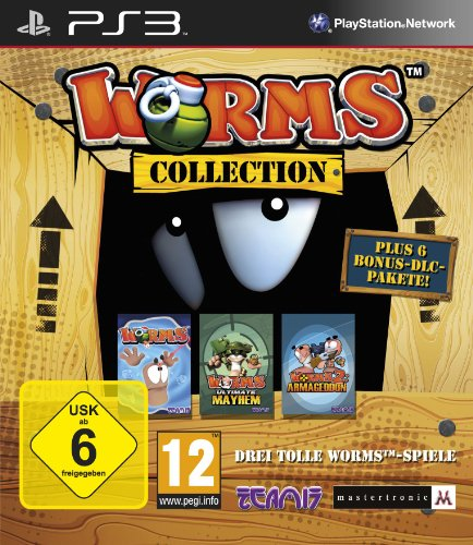 Worms Collection PlayStation 3 artwork