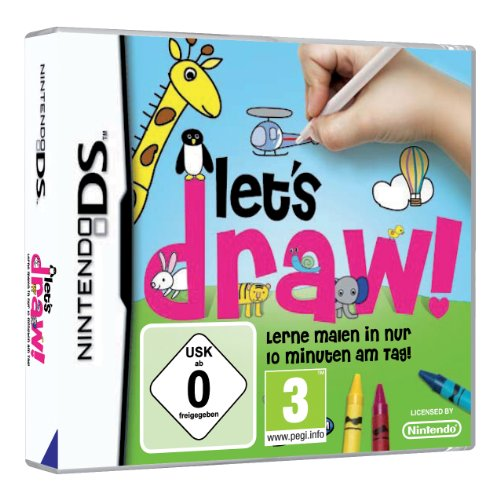 Let's Draw Nintendo DS artwork