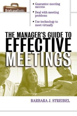 Manager's Guide to Effective Meetings   2003 edition cover
