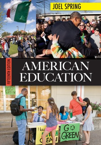 American Education  15th 2012 edition cover