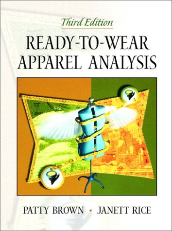 Ready-to-Wear Apparel Analysis  3rd 2001 (Revised) edition cover