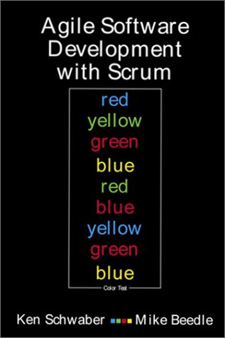Agile Software Development with SCRUM   2002 edition cover