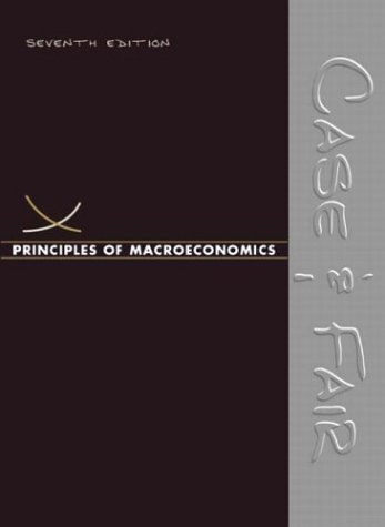 Principles of Macroeconomics  7th 2004 9780131442344 Front Cover