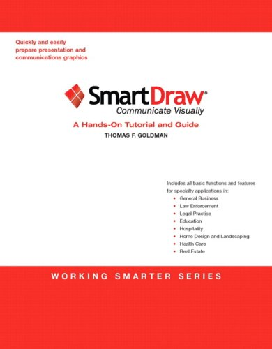 SmartDraw A Hands-on Tutorial and Guide  2010 9780135064344 Front Cover