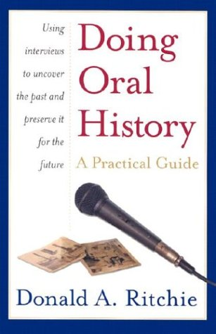 Doing Oral History A Practical Guide 2nd 2003 (Revised) edition cover