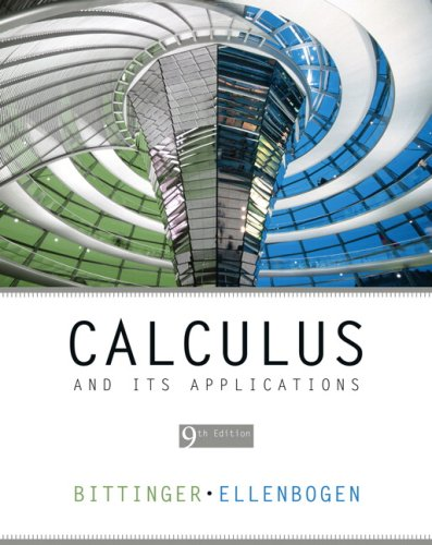 Calculus and Its Applications  9th 2008 (Revised) edition cover