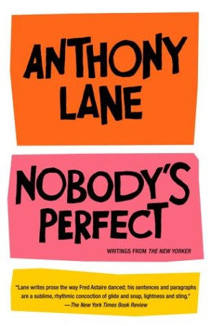 Nobody's Perfect Writings from the New Yorker  2002 edition cover