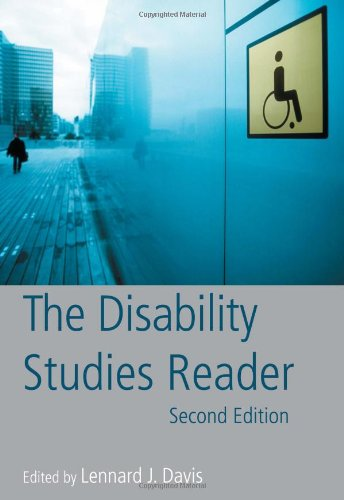 Disability Studies Reader  2nd 2006 (Revised) edition cover