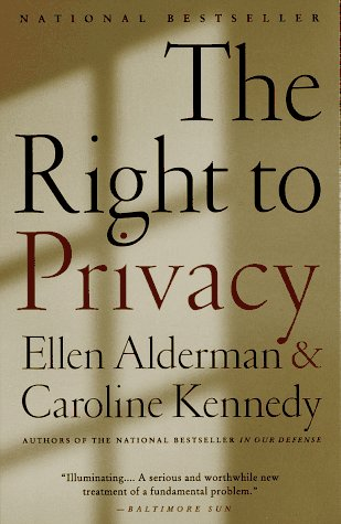 Right to Privacy  N/A 9780679744344 Front Cover