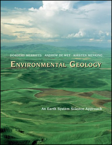 Environmental Geology An Earth System Science Approach  1998 edition cover