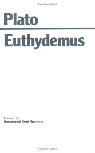 Euthydemus   1993 (Reprint) edition cover