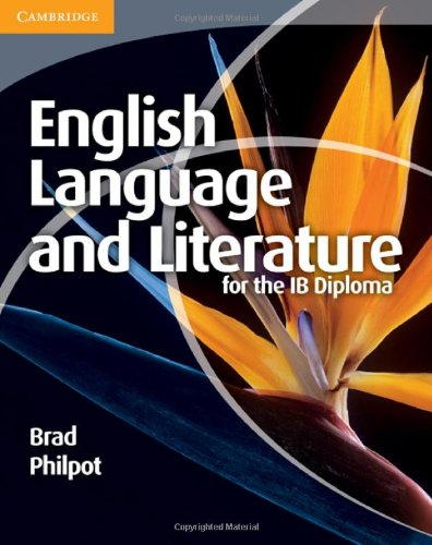 English Language and Literature for the IB Diploma   2011 edition cover