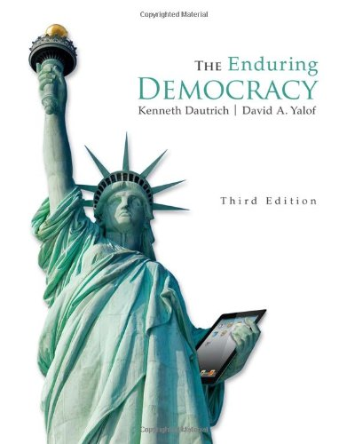 The Enduring Democracy 3rd 2013 edition cover