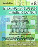 Introducing Public Administration:   2016 9781138666344 Front Cover