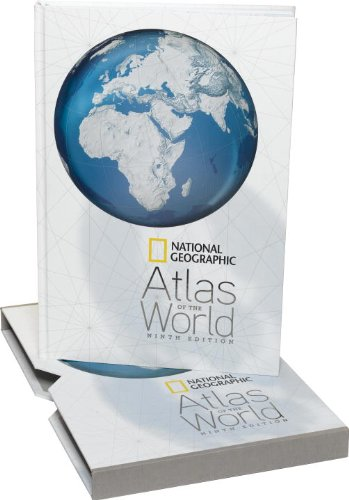 National Geographic Atlas of the World  9th 2010 edition cover