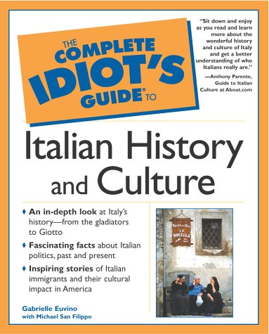 Complete Idiot's Guide to Italian History and Culture   2002 edition cover