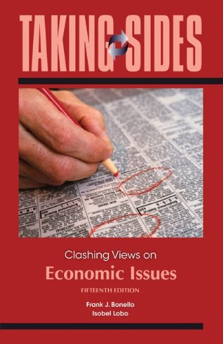 Taking Sides: Clashing Views on Economic Issues  15th 2012 edition cover