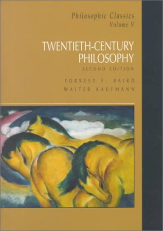 Twentieth Century Philosophy  2nd 2000 edition cover
