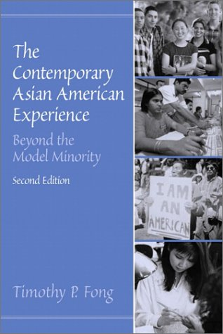 Contemporary Asian American Experience Beyond the Model Minority 2nd 2002 edition cover