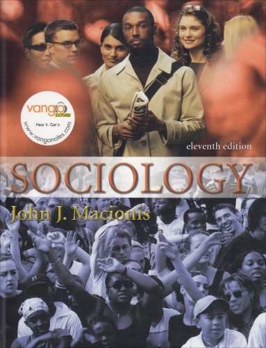 Sociology  11th 2007 edition cover