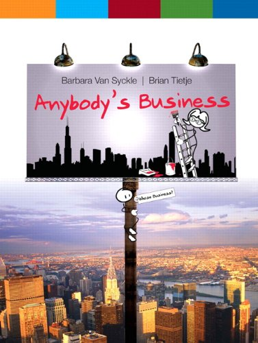 Anybody's Business   2010 edition cover