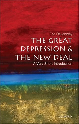 Great Depression and the New Deal   2007 edition cover