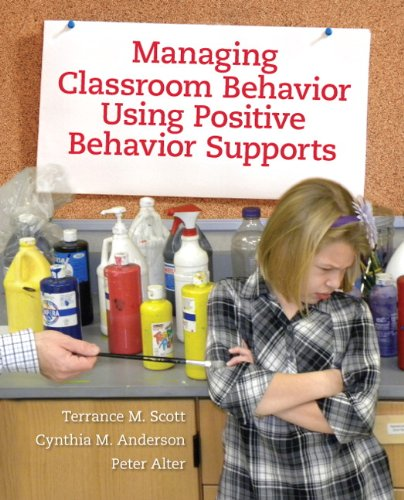 Managing Classroom Behavior Using Positive Behavior Supports   2012 edition cover