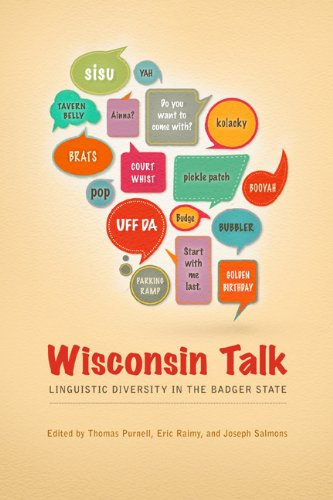 Wisconsin Talk Linguistic Diversity in the Badger State  2013 edition cover