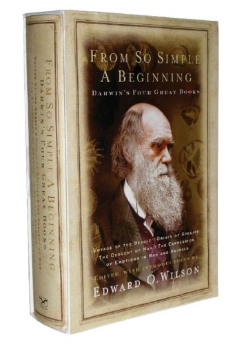 From So Simple a Beginning Darwin's Four Great Books  2005 edition cover