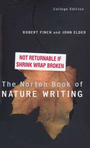 Norton Book of Nature Writing   2002 edition cover