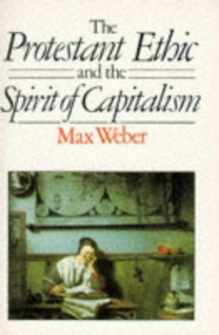 Protestant Ethic and the Spirit of Capitalism   1985 edition cover