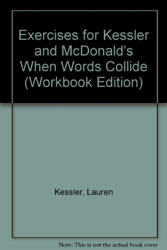 When Words Collide 5th 2000 9780534561345 Front Cover