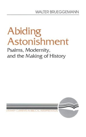Abiding Astonishment Psalms, Modernity, and the Making of History N/A 9780664251345 Front Cover