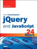 JQuery and JavaScript in 24 Hours   2014 edition cover