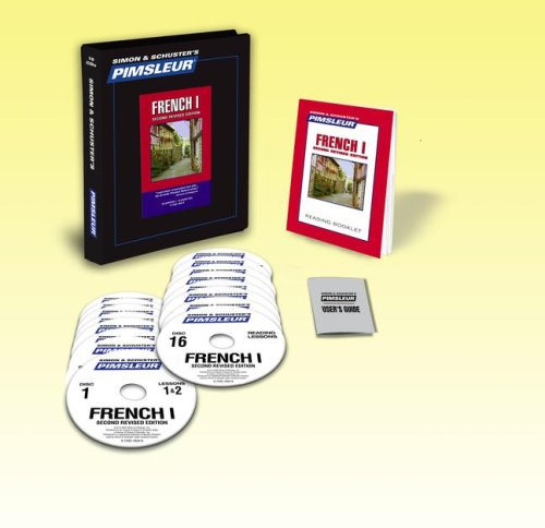 French I : Learn to Speak and Understand French with Pimsleur Language Programs 2nd 2002 (Revised) 9780743518345 Front Cover
