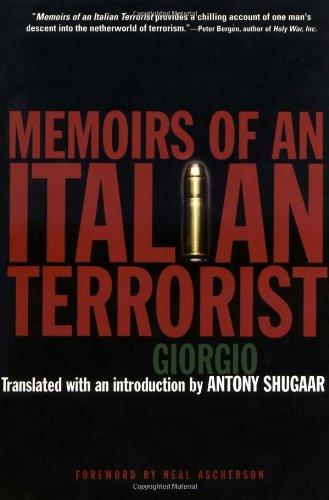 Memoirs of an Italian Terrorist   2003 edition cover
