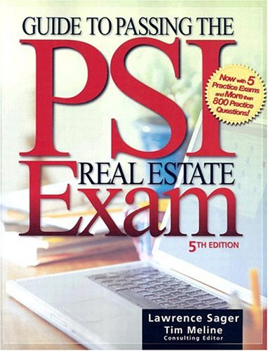 Guide to Passing the PSI Real Estate Exam  5th 2005 (Revised) edition cover