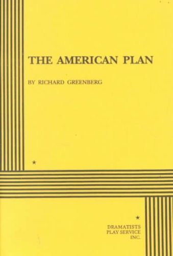 American Plan  N/A edition cover