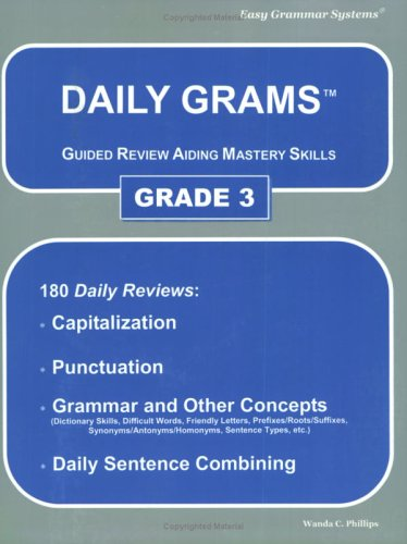 Daily Grams Grade 3 N/A edition cover