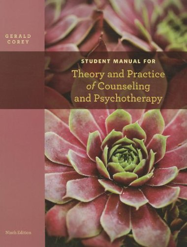 Student Manual for Theory and Practice of Counseling and Psychotherapy  9th 2013 9781133309345 Front Cover
