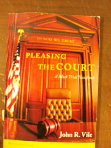 PLEASING THE COURT >CUSTOM<    N/A 9781285118345 Front Cover