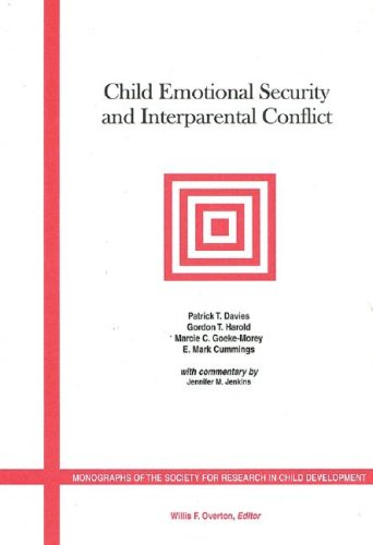 Child Emotional Security and Interparental Conflict   2003 9781405112345 Front Cover