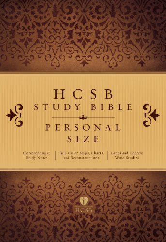 HCSB Study Bible Personal Size, Trade Paper   2014 edition cover
