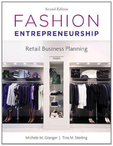 Fashion Entrepreneurship Retail Business Planning 2nd 2012 edition cover