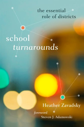 School Turnarounds The Essential Role of Districts  2012 edition cover