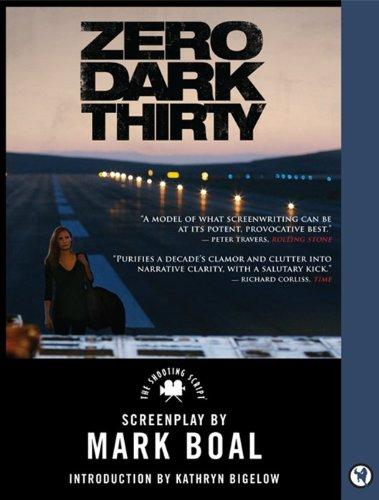 Zero Dark Thirty The Shooting Script  2013 edition cover