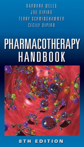 Pharmacotherapy Handbook  8th 2012 edition cover