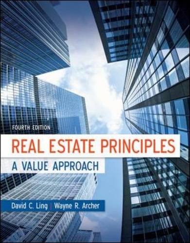 Real Estate Principles A Value Approach 4th 2013 9780073377346 Front Cover