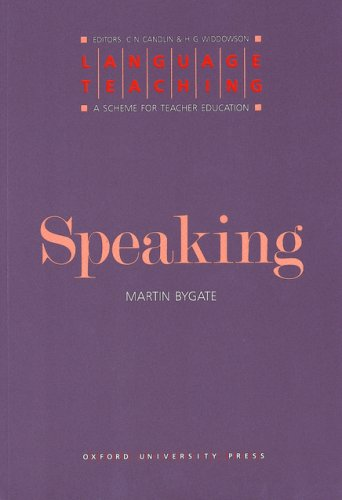 Speaking   1987 9780194371346 Front Cover