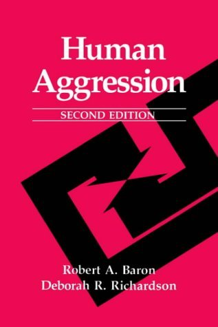 Human Aggression  2nd 1994 (Revised) 9780306484346 Front Cover